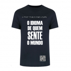 Camiseta Braille Lado B