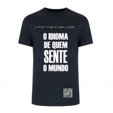 Camiseta Braille Lado B